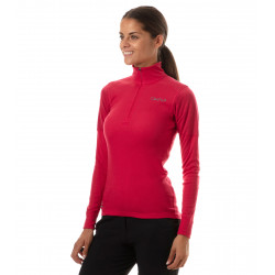 Warm round 1/2 zip technical baselayer