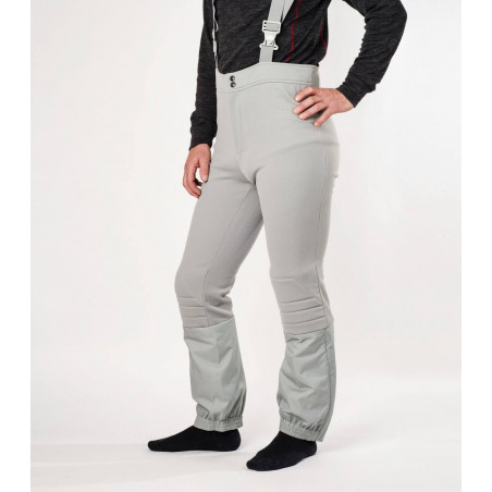 Oldschool woolen flared ski trousers