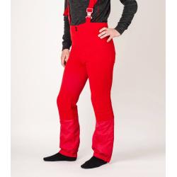 Oldschool woolen flared ski trousers