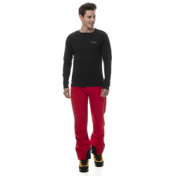 Extra-warm round neck technical baselayer