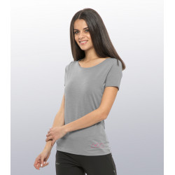 Women's MERINO wool T-shirt - Short sleeves by Cimalp®