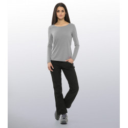 Women's MERINO wool T-shirt - Long sleeves by Cimalp®