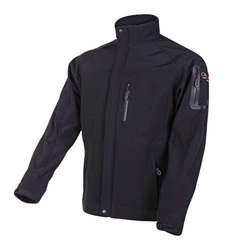Men's FORCE 3 Layer Softshell Jacket in Black