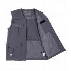 Men's multipocket gilet