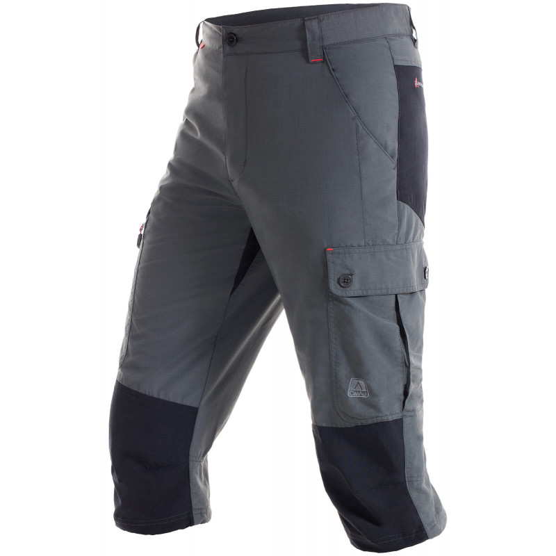 Cropped hiking trousers