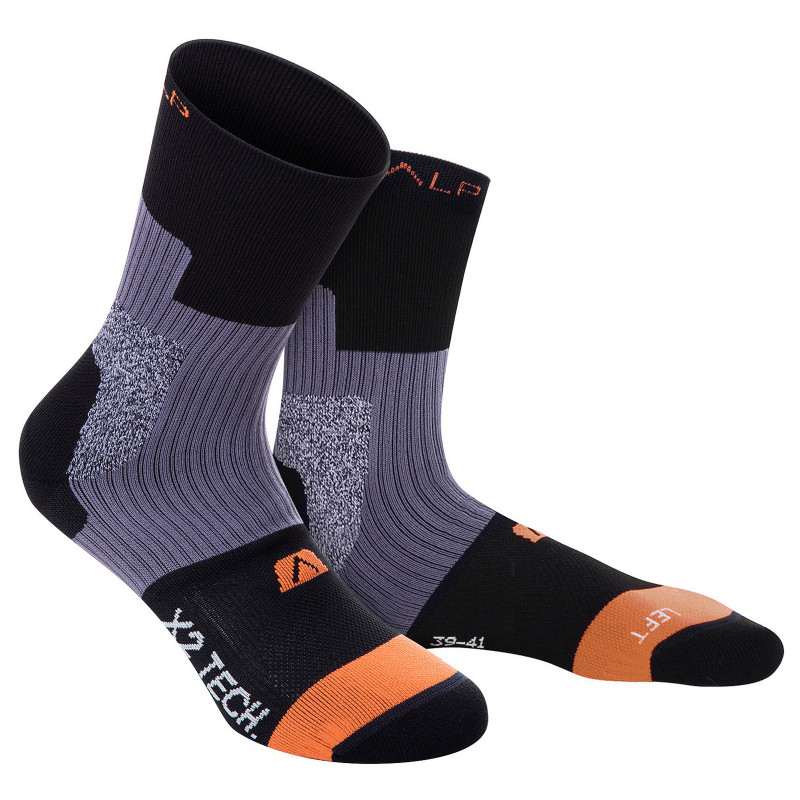 Double layer anti-blister trekking socks