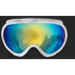 Ski Goggles with Double Brightness Lens