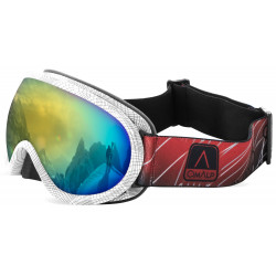 Masque de ski effet miroir Cat.4 Double écran