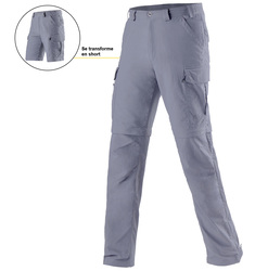 Men's KATMANDOU Lightweight Anti-Mosquito Convertible Trousers - Short legs