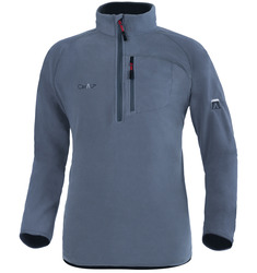 Warm Zipped Fleece Sweatshirt with Thermofleece-200