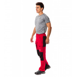 Pantaloni da montagna elasticizzati 3D-Flex + rinforzi Schoeller