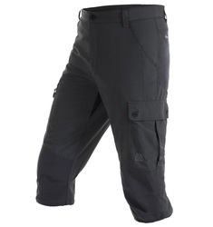Cropped Hiking Trousers with Stretch Lining