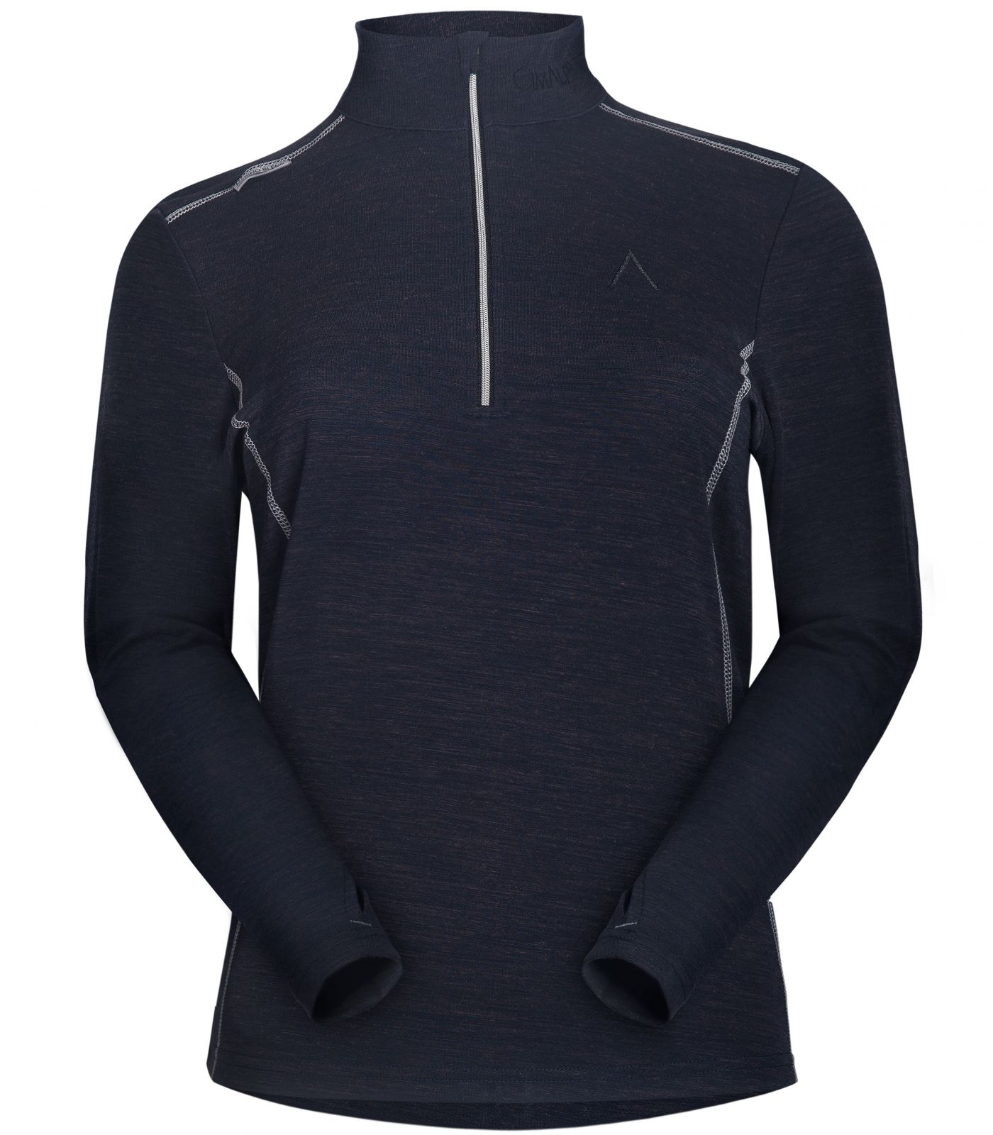c9cc83dbde34d Extra Warm Zip Collar Thermal Base Layer With Merino Wool