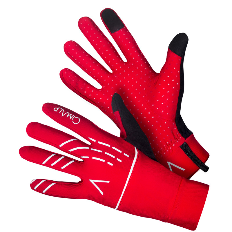 Thermal gloves with wind and rain protection