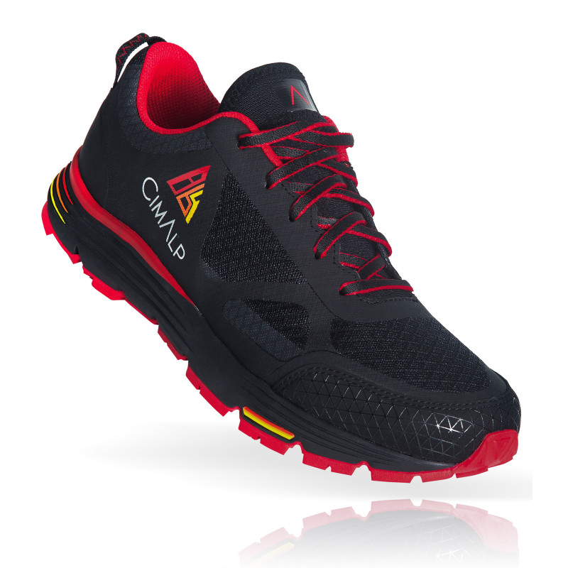 Trail Running Shoes with progressive drop