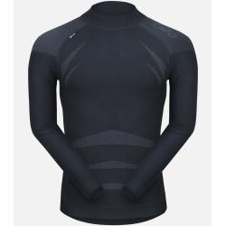Camiseta interior térmica de bambú y seda sin costuras