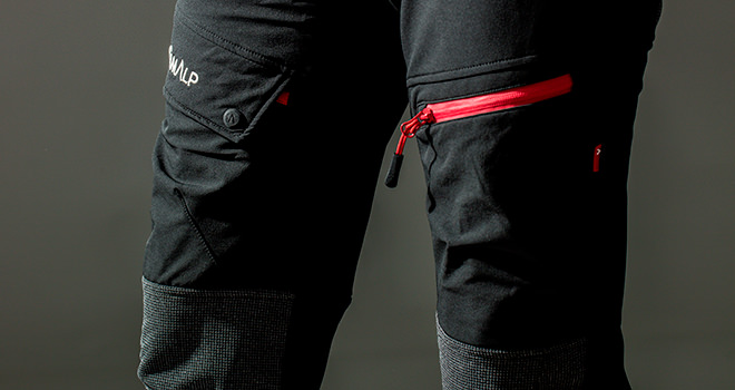 kevlar mountaineering trousers