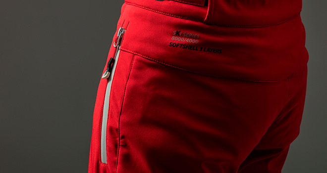 waterproof and dry ski trousers